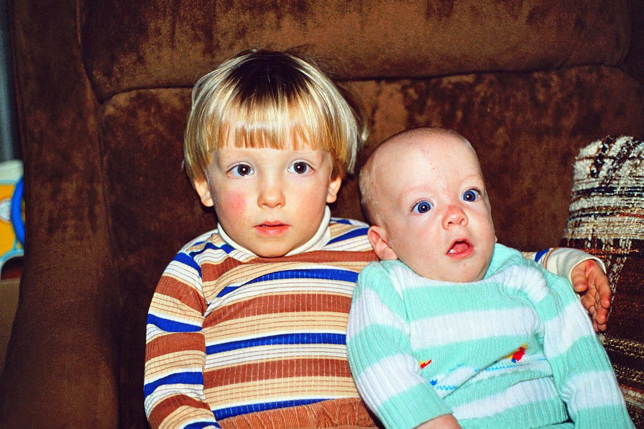 David & Jason on David's 3rd Birthday