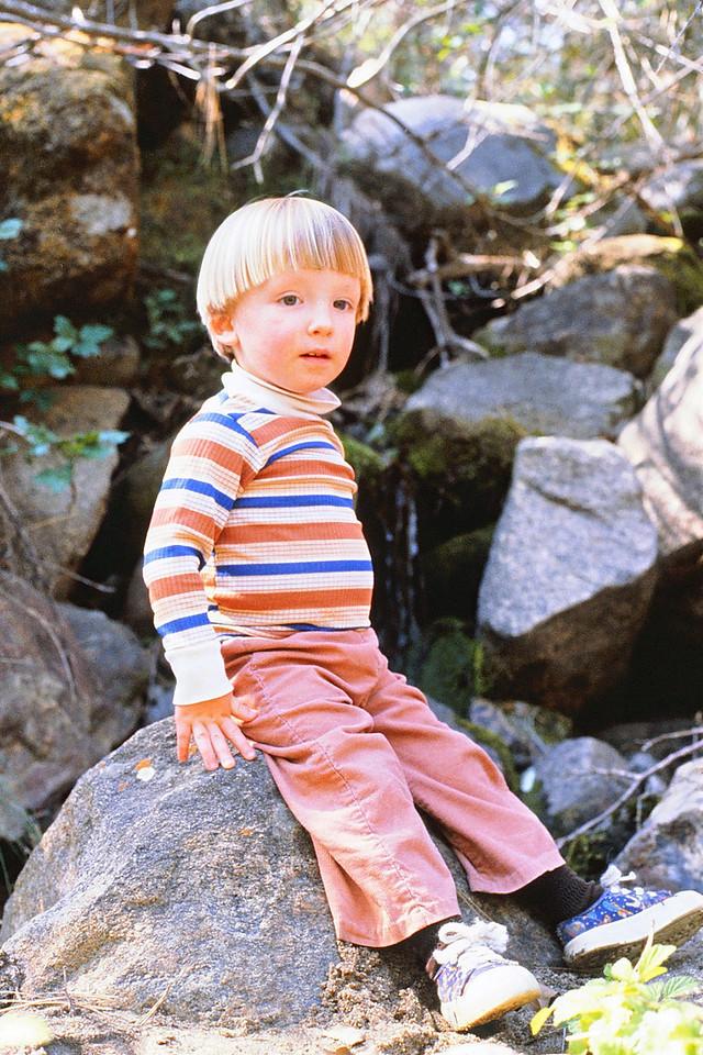 David, Pine Flat, 1981