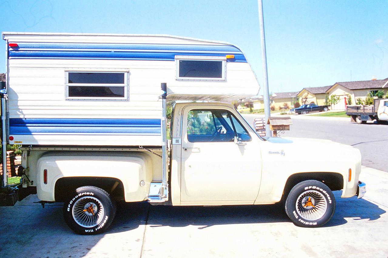 New Cab-over-Camper, 1980