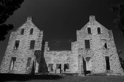 Castle ruins at Ha Ha Tonka.  August 7, 2004