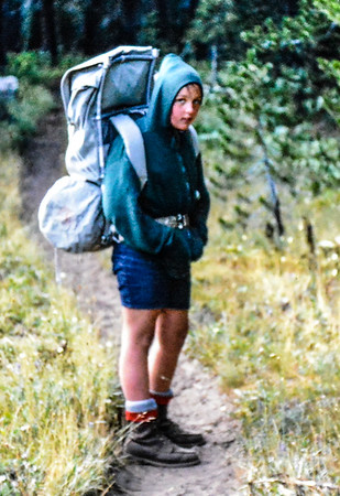 Habermeyer Family Backpacking Trip Huckleberry Lake- August 1968