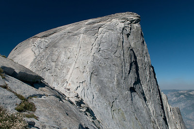 Our first full-on look at the summit and the cables.