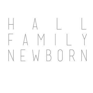 Hall Family: Newborn
