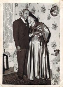 Claude and Julia Hall