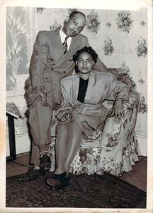 Elvina Hall and Husband