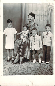 Catherine,Brenda,Maurice,Timothy and Cecil Hall