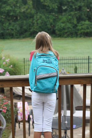 Halli first day of 6th grade 8/2011