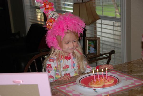 Hallie's 4th Birthday