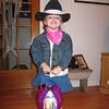 Ava as a cowgirl.  The cutest one EVER!!!