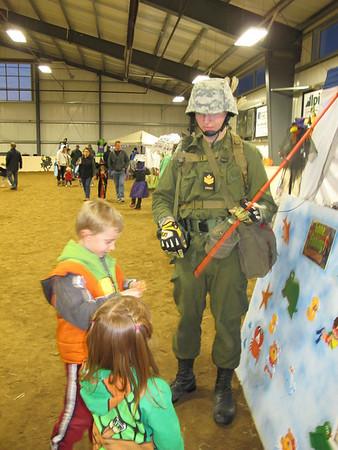Halloween at the horse barn 2013