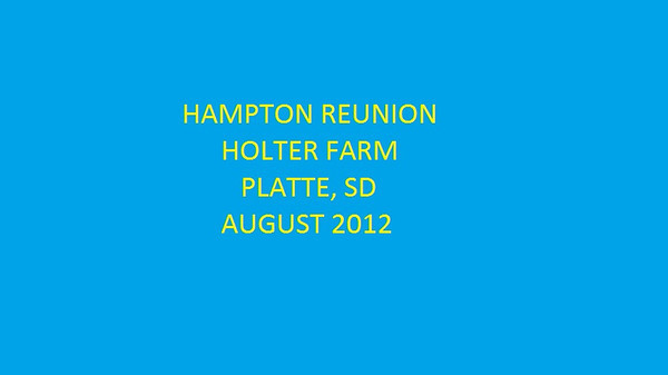 Hampton Reunion 2012
