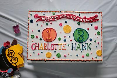 Hank & Charlotte Birthdays 2015
