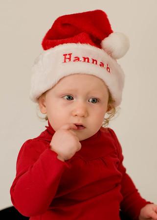 Hannah Christmas 2009