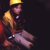 Hannah caving