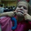 Amelia's funny face  :-)