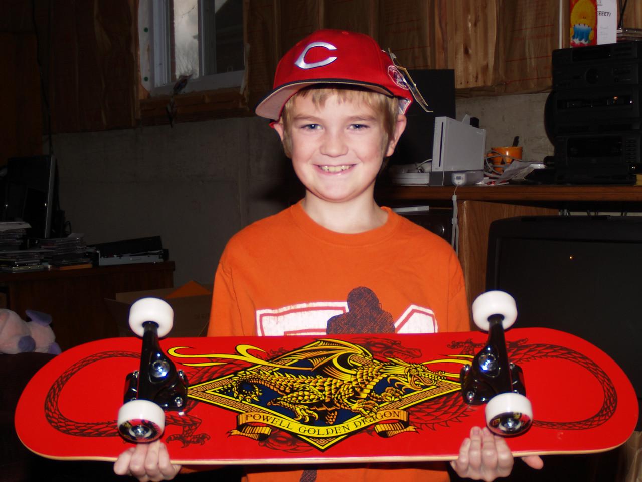 Simon Birthday Skateboard