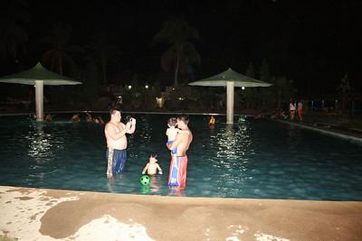 Night Swimming at El Madero