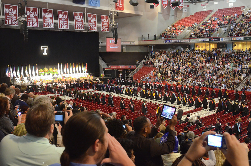 Temple University Graduation 2012, Philadelphia
