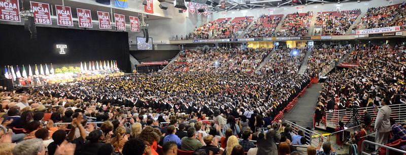 Temple University Graduation 2012, Philadelphia
