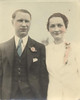 Bret and Jennie Harding on wedding day, August, 1, 1936.