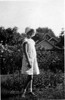 Doris at Cedar Rapids, taken August, 1929.