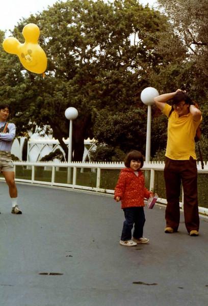 June 1983 Disneyland