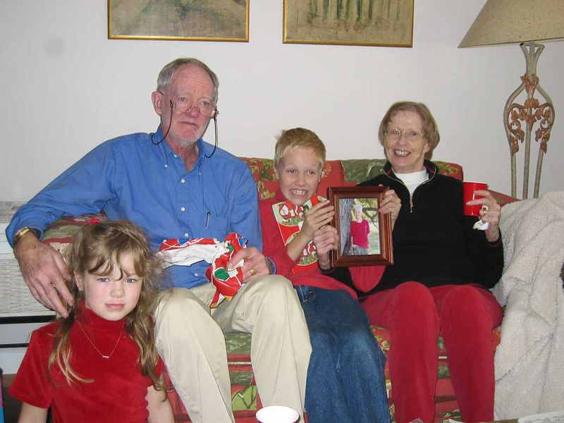 Christmas 2004 - New Mexico.
