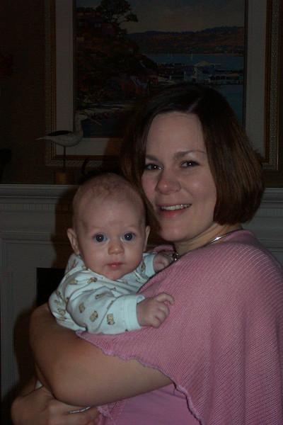 Sonya & baby Aaron