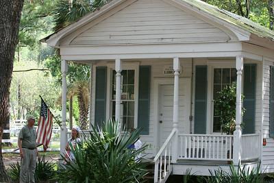 The Little White House School Library - Daufuskie