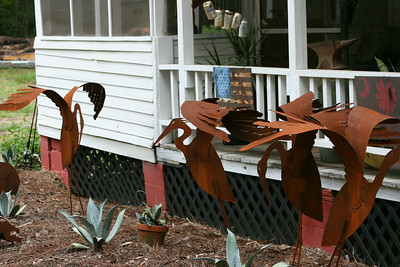 Metalwork on Daufuskie Island