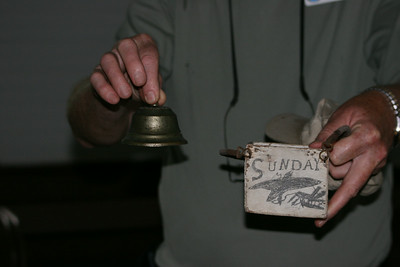 The Church Bell with original box decorated by children