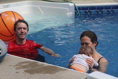 Schwalb Family Pool Fun