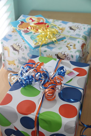 ready to celebrate Carter's 1st Birthday