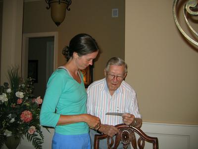 Catherine & her Granddaddy
