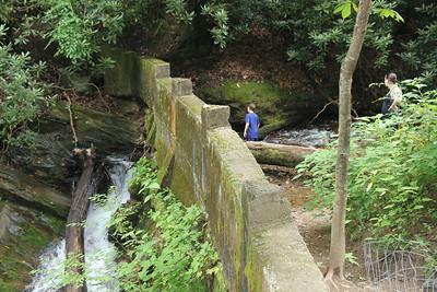 an old dam