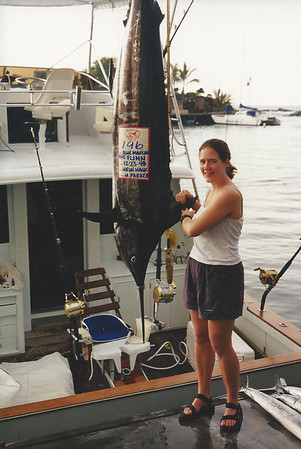 "Anne had the ""catch of the day"" -  largest fish"