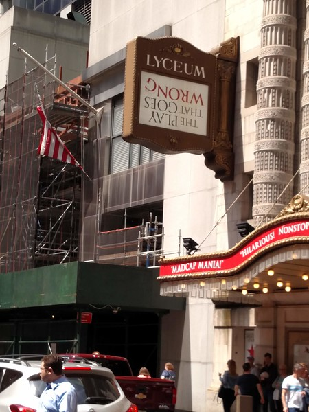 The Play That Goes Wrong - Melanie's 70th Birthday Weekend