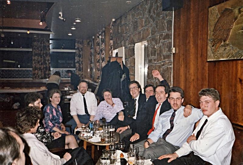 Norman's 50th Birthday party in the La Dolce Vita Craghead.