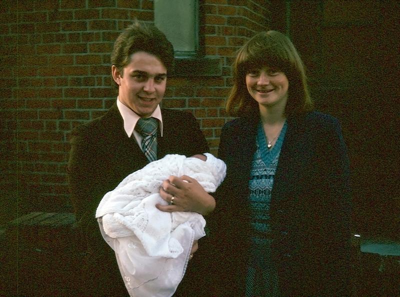 Andrew's christening