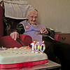 Grandma Renwick on her 100th Birthday May 2013