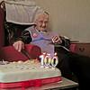 Grandma Renwick on her 100th Birthday May 2013