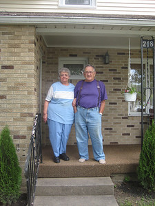 We visited Emmet's brother Laird and wife Esther in Baltic, Ohio