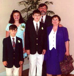 At Donna and Frank's Wedding, May 1997