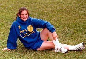 Libby Track Photo, Fall 1998