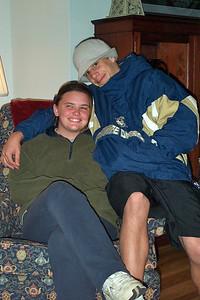 Thanksgiving 2001 at Nana's