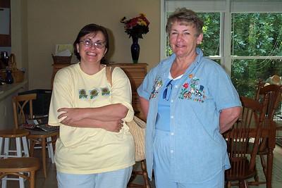 August 2001 at Lachances