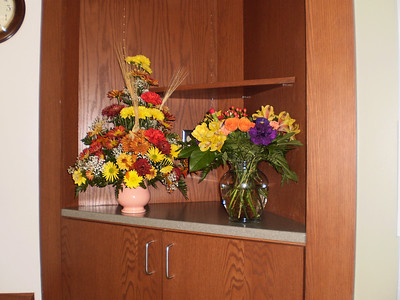 Flowers from Stehls and Marilyn