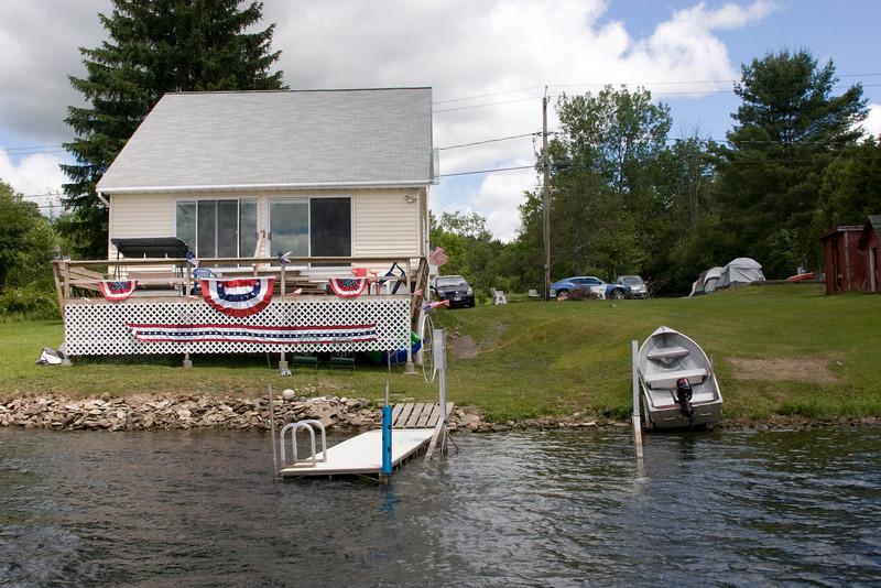 The Bellinger summer cottage on Hatch Lake, NY