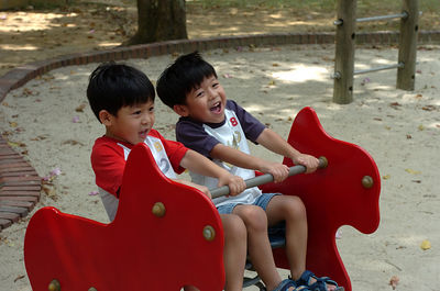 Having fun at MacRitchie