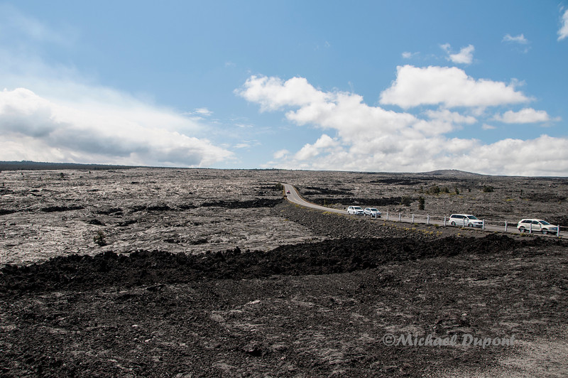 Chain of craters road.